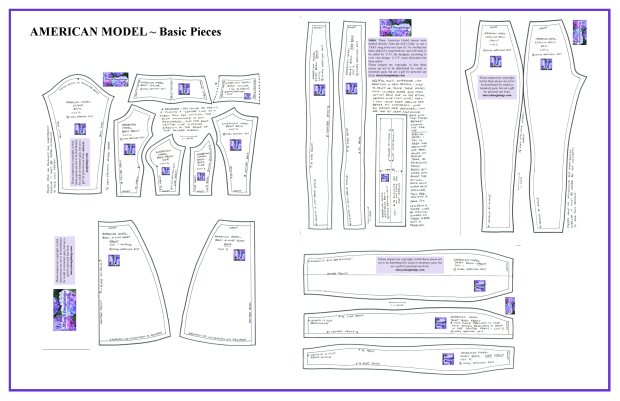American Model Basic Pieces