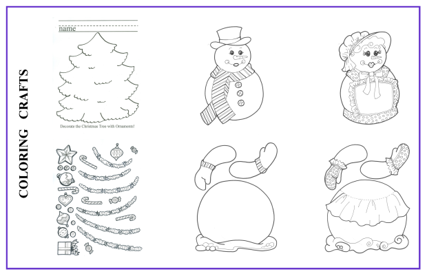 Coloring Crafts 4