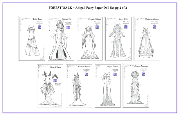 FOREST WALK Abigail Set 2