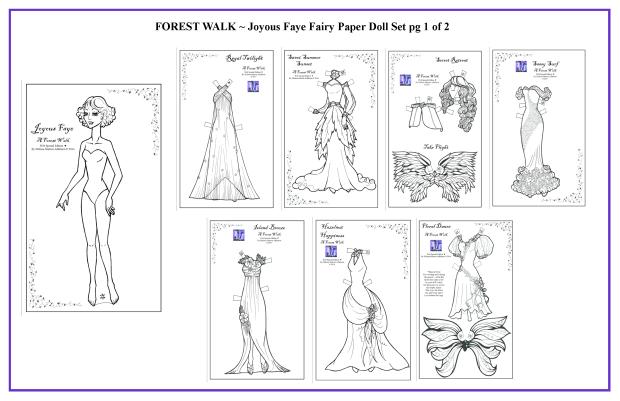 FOREST WALK Joyous Faye Set 1