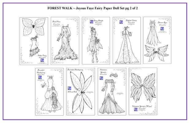 FOREST WALK Joyous Faye Set 2