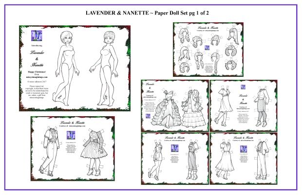 Lavender & Nanette Set 1