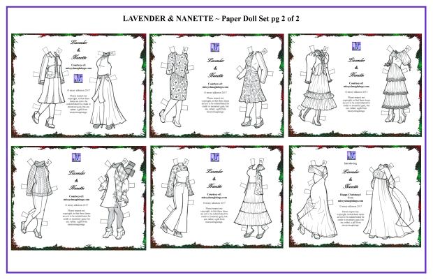 Lavender & Nanette Set 2