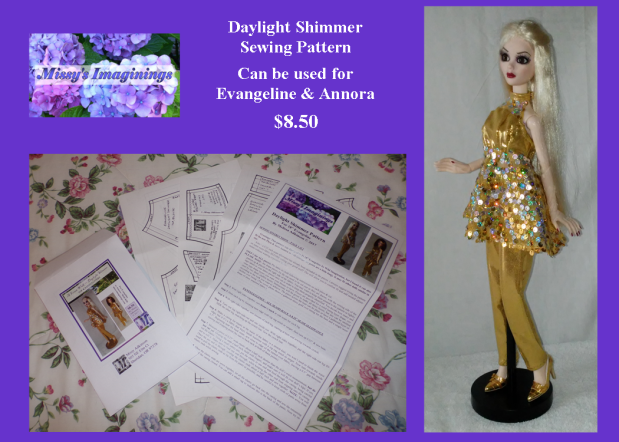 PHOTO Daylight Shimmer Pattern