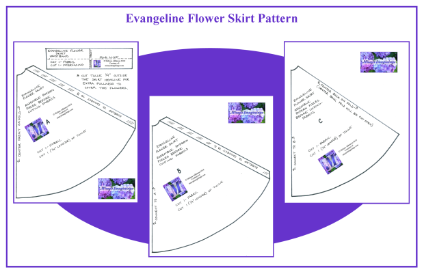Evangeline Flower Skirt