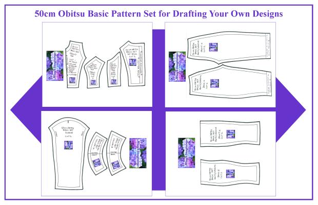 50cm Obitsu Basic Set