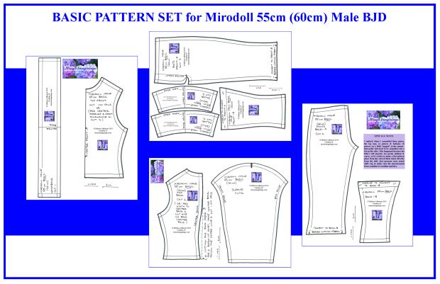 BJD Mirodoll 55cm Male Basic
