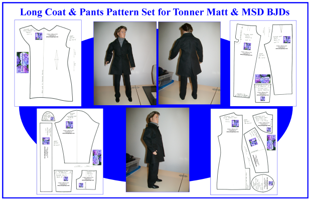 Matt Long Coat & Pants