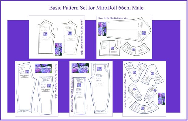 MiroDoll 66cm Male Basic Set