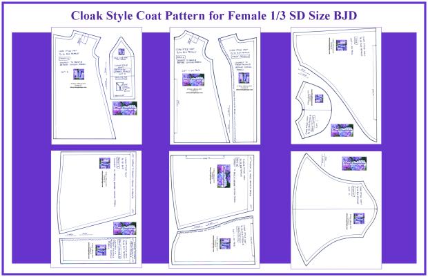 BJD SD Cloak-Coat