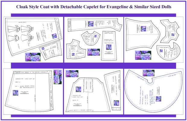 Evie Cloak Coat Set