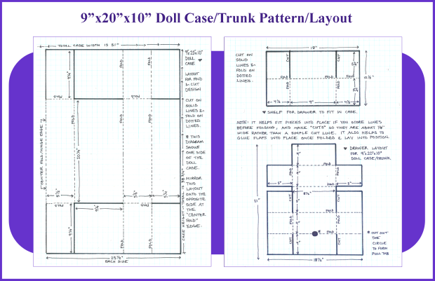 9x20x10 Doll Case