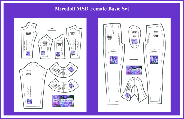 Mirodoll MSD Female Basic Set