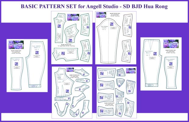 SD BJD - AS Hua Rong BASIC SET