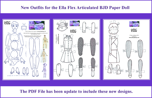 Ella Flex - new designs for 12 gifts 2020